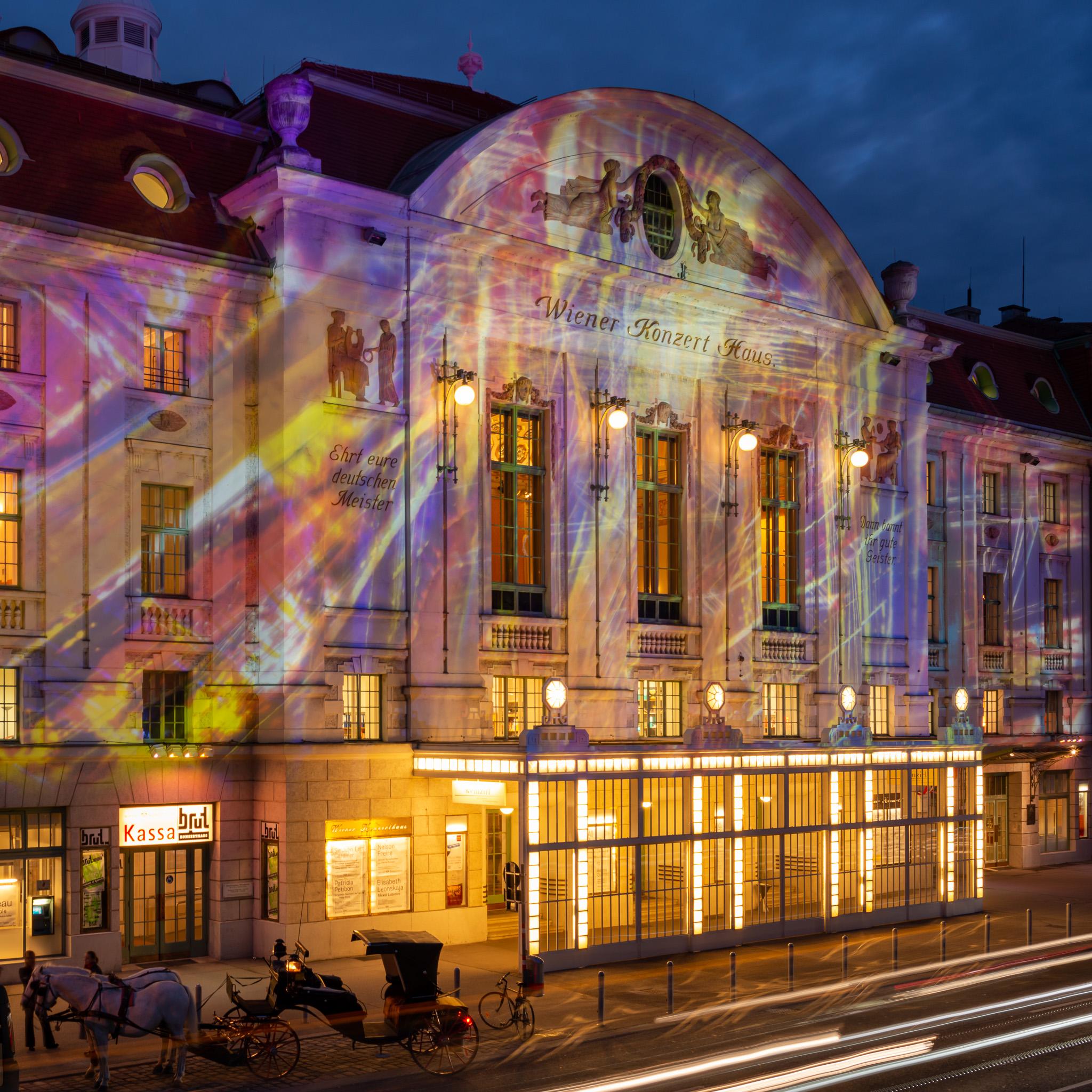 Wiener Konzerthaus - Werbekampagne - Dezember 2019